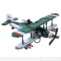 Bristol Fighter Plane - Lego Compatible Model
