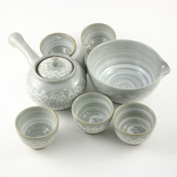 Korean teaset 5 cups - Inhwamoon