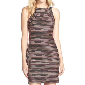 Women's Trina Turk 'Verbena' Textured Sheath Dress,