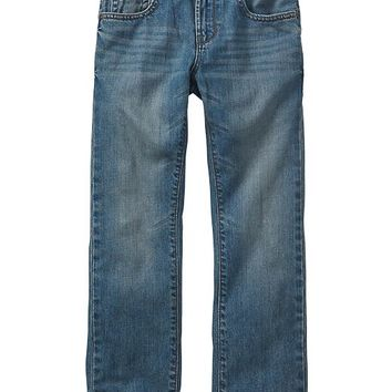 Gap Boys Factory Slim Straight Fit Jeans