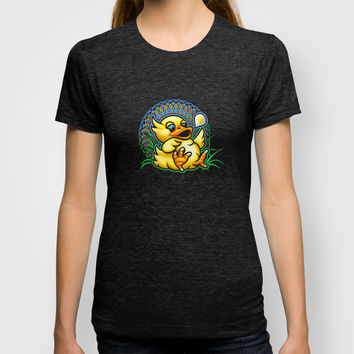 Fat Chocobo T-shirt by Likelikes