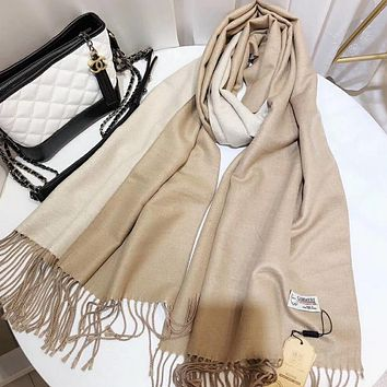 Perfect Cashmere Women Wool Scarf Shawl Scar