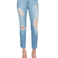 Le Skinny Cropped Jeans,