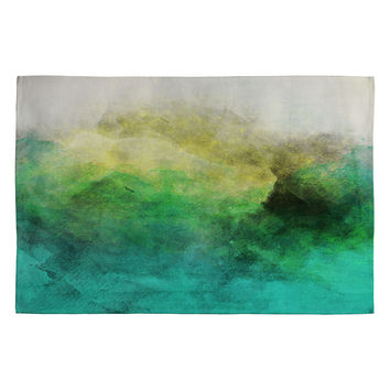 Allyson Johnson Peacock Ombre Woven Rug