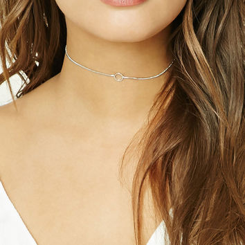 O-Ring Snake Chain Choker
