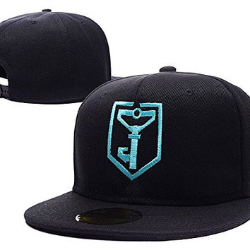 HAIHONG Resistance Ingress Logo Adjustable Snapback Caps Embroidery Hats - Black