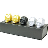 DL & Co Skull Gift Set - Metallic