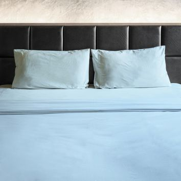1800 THREAD COUNT BAMBOO FEEL 4 PIECE BED SHEET SET 12 COLORS - Softer Than Egyptian Cotton