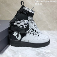 DCCK N1026 NIKE Military wind function boots outdoor leisure high - top shoes Black Grey