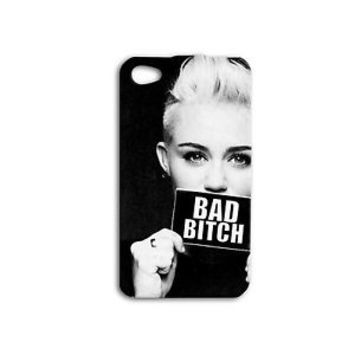Funny Miley Cyrus Case Cute Phone Cover iPhone 4 4s 5 5s 5c 6 6s + SE Plus iPod