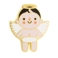 Angel Baby Enamel Pin