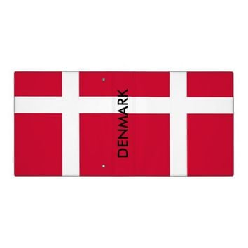 Binder with Flag of Denmark