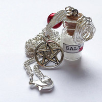Supernatural salt and burn protection necklace