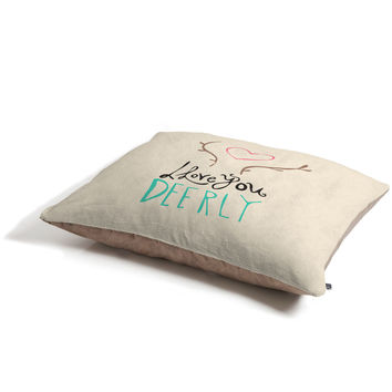 Allyson Johnson Love you deerly Pet Bed
