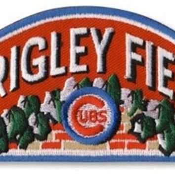 Chicago Cubs Wrigley Field MLB Baseball Jersey Sleeve Patch