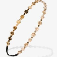 Pearlescent Medallions Headband | FOREVER 21 - 1030186429
