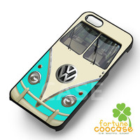 VW camper bus turquoise color -snda for iPhone 4/4S/5/5S/5C/6/6+,samsung S3/S4/S5/S6 Regular/S6 Edge,samsung note 3/4