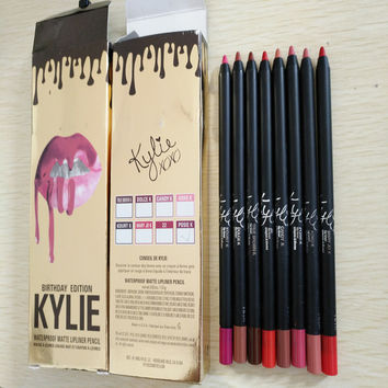 New Arrival KYLIE Birthday Gift 12 colors Lips Pen [9340470916]