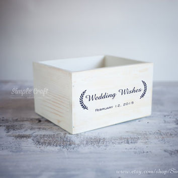 Baby box wedding invitation box wedding wishes cards box advice for new parents bridal shower advice cards bridal shower gift for the bride