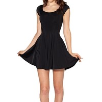 MapleClan Simple Slim Fitting One Piece Dress