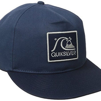 Quiksilver Men's Graf Trucker Hat, Flint Stone, One Size