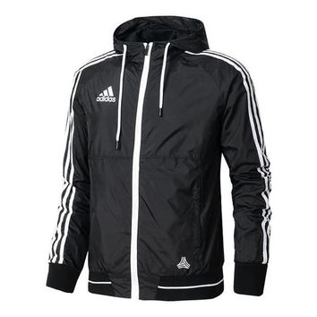 Adidas Cardigan Jacket Coat Hoodie Windbreaker