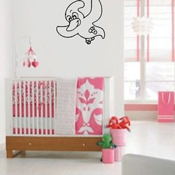 Wall Vinyl Decals Sticker Housewares Baby Room Animal Funny Dinosaur AB144