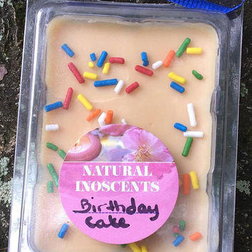 Birthday Cake wax melts -  Free shipping