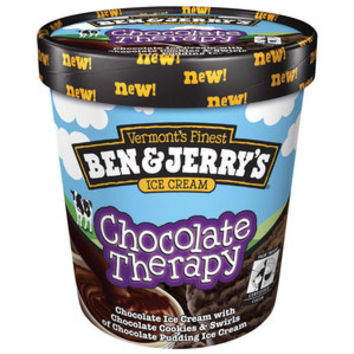 Walmart: Ben & Jerry's Chocolate Therapy Ice Cream, 1 pt