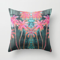 Island Breeze Throw Pillow by Sophia Buddenhagen