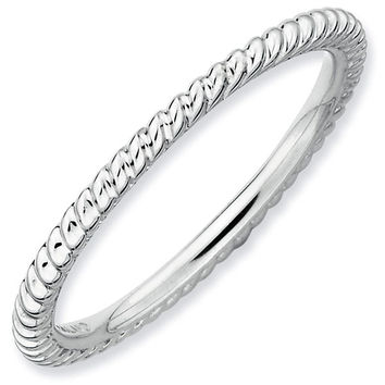 Grooved Stackable Ring 1.5mm