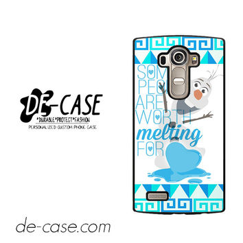 Olaf Quote Disney Frozen For LG G4 Case Phone Case Gift Present