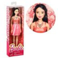 Barbie Glitz Coral Dress Doll