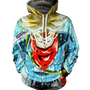 Trunks Dragon ball z Hoodie