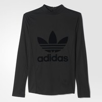 adidas Long Sleeve Tee - Black | adidas US