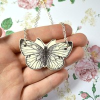 Butterfly necklace - Bows Jewellery