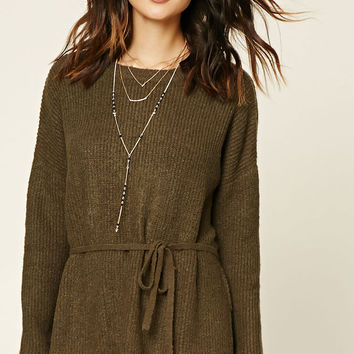 Contemporary Drawstring Tunic