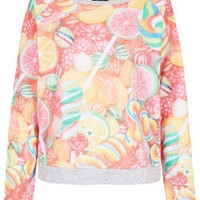 Sweetie Print Sleep Top - I Heart Candy   - New In