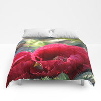 Kingdom Of Red Comforters by Theresa Campbell D'August Art