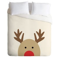 Allyson Johnson Reindeer Duvet Cover