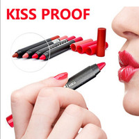 Menow Brand Kiss Proof Batom Matte Lipstick Makeup Waterproof Lip Pencil For Sexy Women Lip Stick Hot Sale 19 Colors