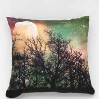Shannon Clark For DENY Moon Magic Pillow- Green One