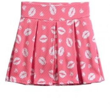Textured Printed Skirt | Girls Skirts Clothes | Shop Justice