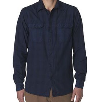 Dockers Wellthread Anchor Poplin Shirt - Dockers Navy - Men's