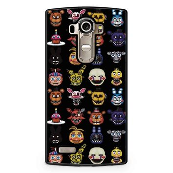 Five Nights At Freddy Pixel Art Characters LG G4 Case