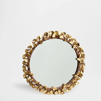 Mirror with golden leaves - Mirrors - Decor and pillows | Zara Home United States