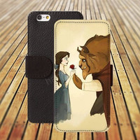 iphone 6 case rose Beauty and the beast colorful iphone 4/4s iphone 5 5C 5S iPhone 6 Plus iphone 5C Wallet Case,iPhone 5 Case,Cover,Cases colorful pattern L547