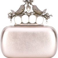 Alexander Mcqueen 'knuckle' Bird Clutch - Stefania Mode - Farfetch.com