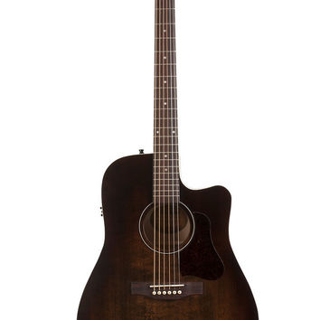Art & Lutherie Americana CW Q1T Bourbon Burst Acoustic-Electric Guitar