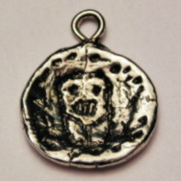 Indian Pottery Genuine American Pewter Charm